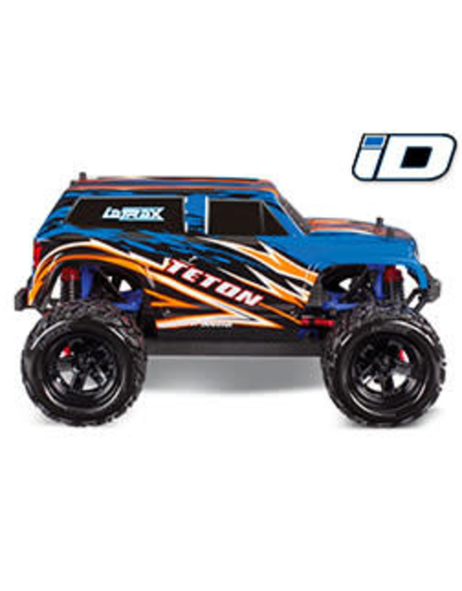Traxxas LaTrax Teton: 1/18 Scale 4WD Electric Monster Truck