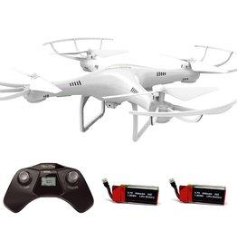 Cheerwing CW4 2.4Ghz 4CH RC Quadcopter Drone with 720P HD Camera, Headless and Altitude Hold Mode, One Key Take Off / Landing