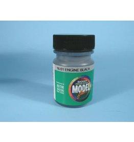 Badger Modelflex Paint - 1oz  29.6mL -- Engine Black