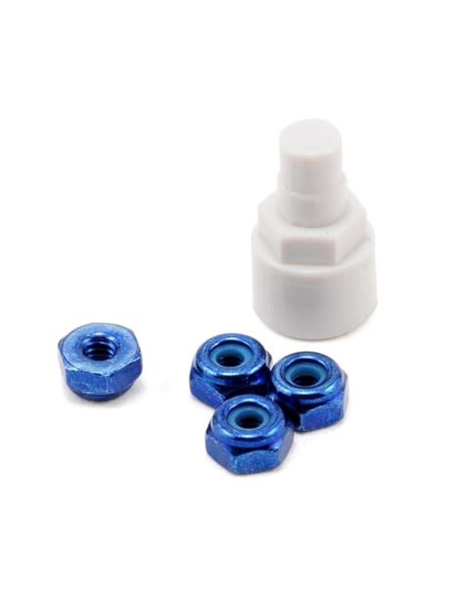 Kyosho Mini Z Color Nylon Nut Blue