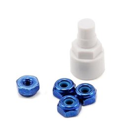 Kyosho Mini Z Color Nylon Nut Blue