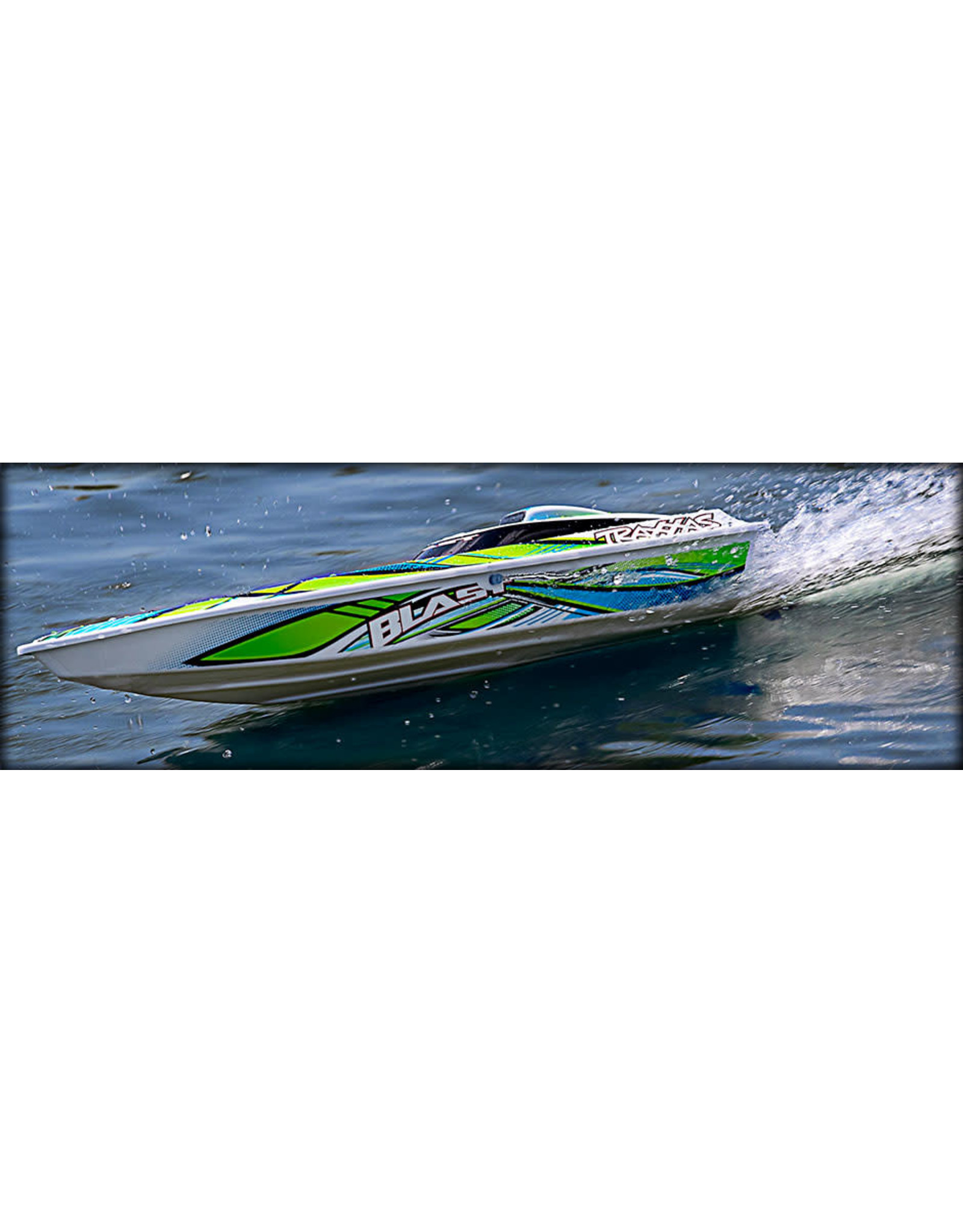 Traxxas Traxxas Blast RTR Green includes charger and battery 38104-1