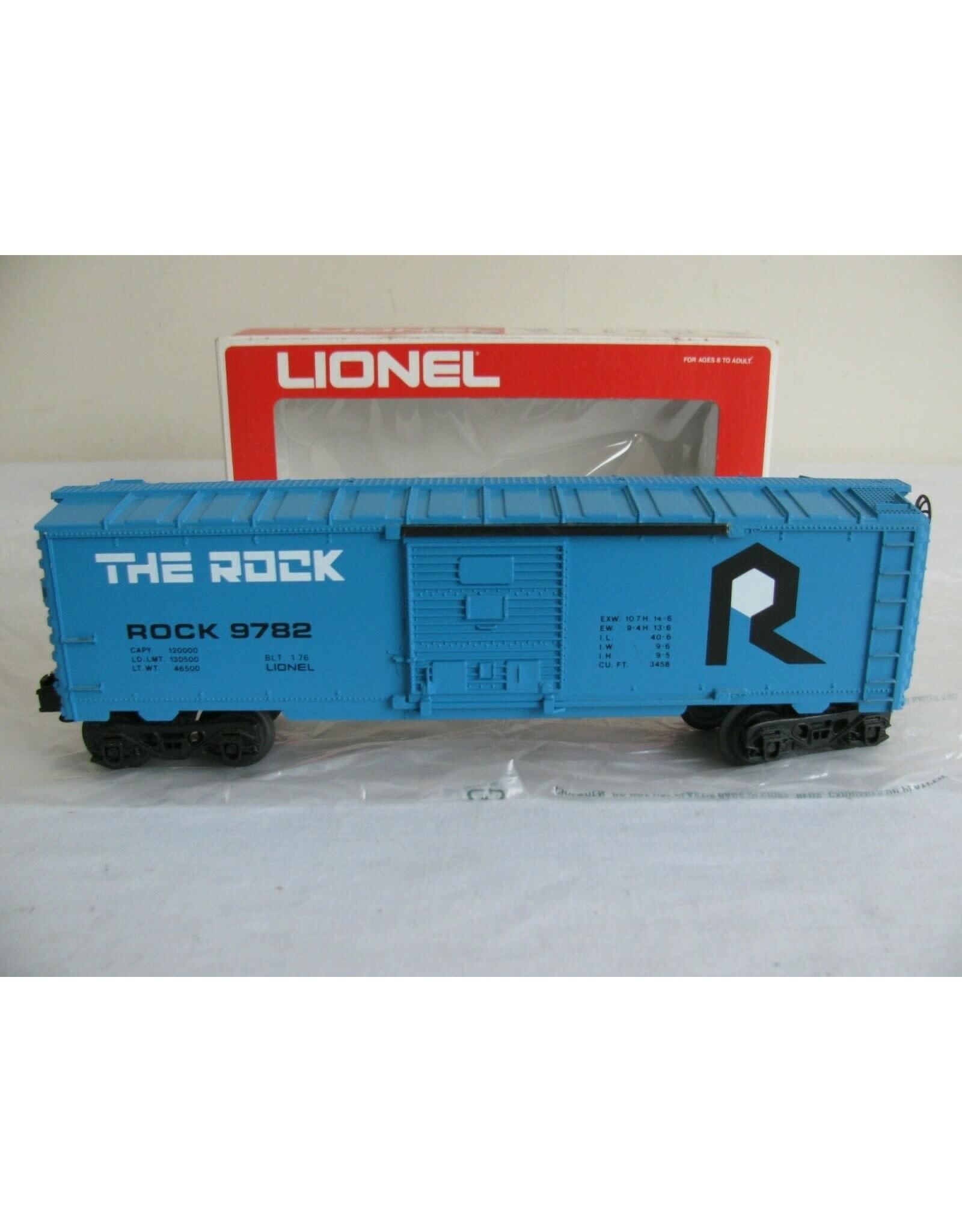 Lionel Boxcar The Rock 9782
