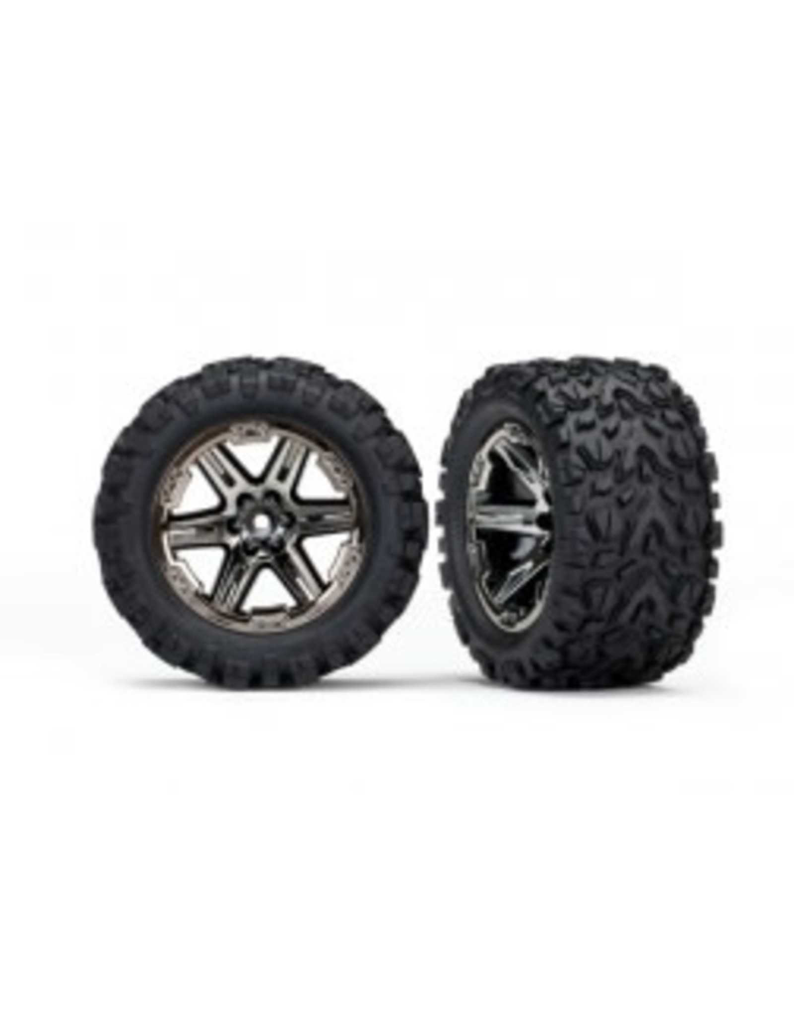 Traxxas Traxxas T & W RXT CHRM/Talon Ext Tire  Rustler