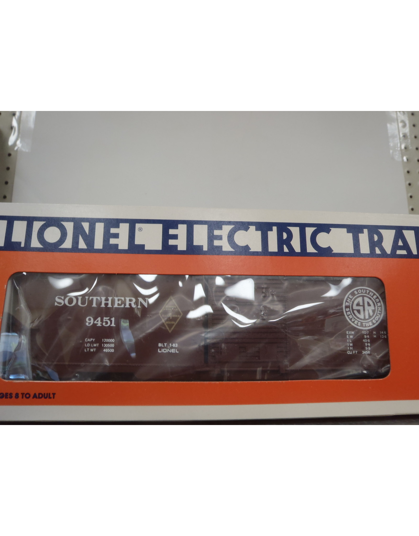 Lionel Boxcar Southern 9451
