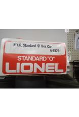 Lionel Boxcar NYC 9826