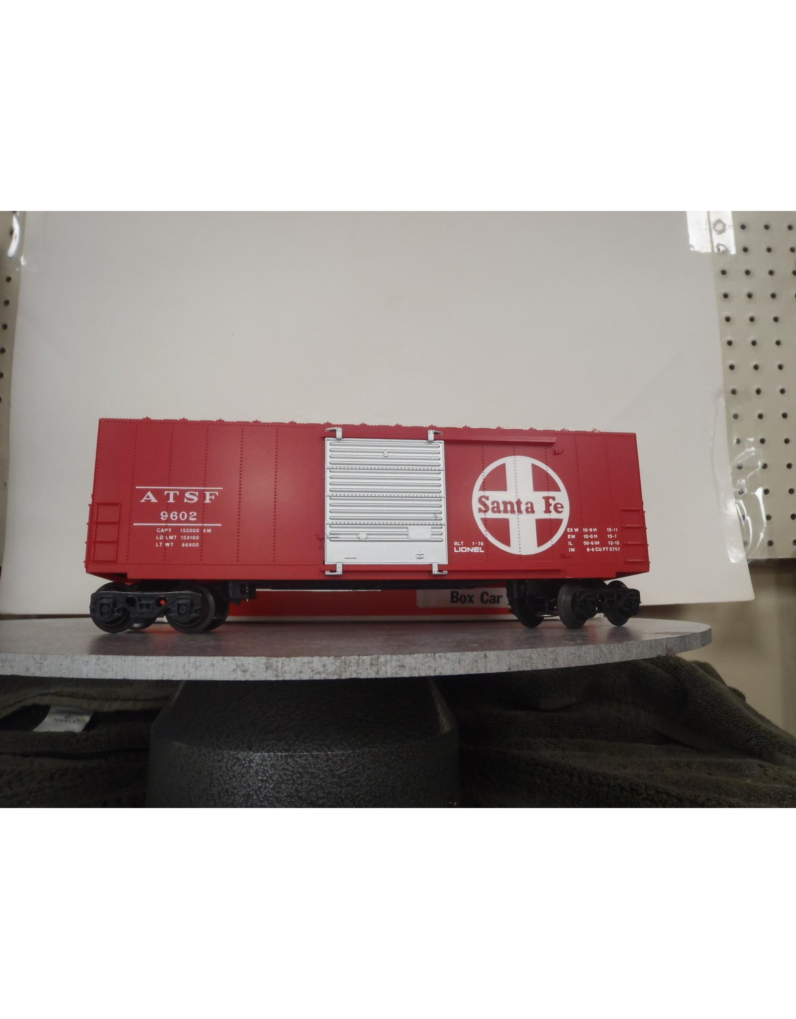 Lionel Boxcar Hi-Cube Sante Fe 9602