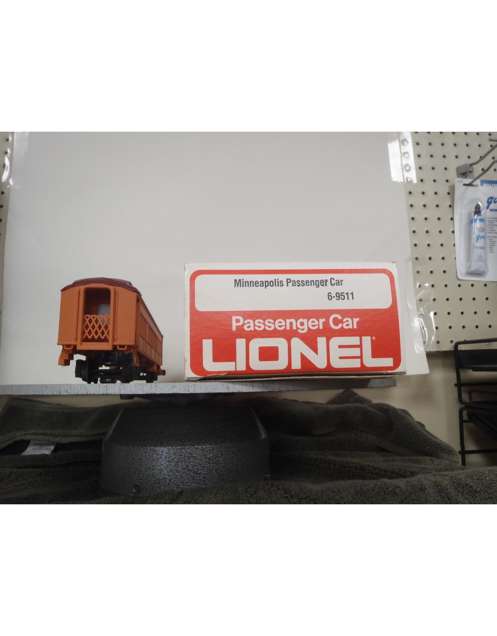 Lionel Passenger Minneapolis Milwaukee Rd