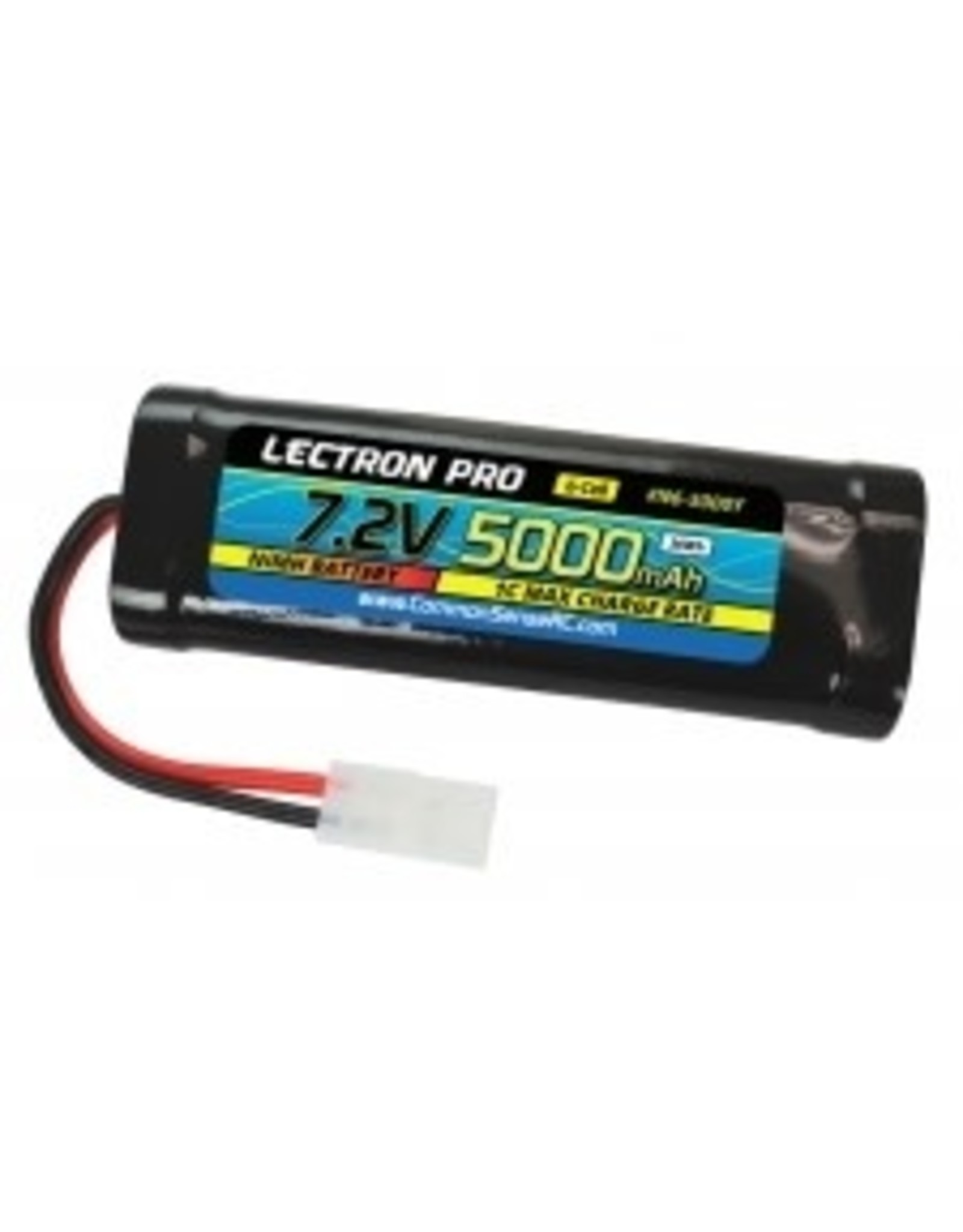 Common Sense RC Lectron Pro Nimh 7.2V (6cell) 5000mah Flat Pack with Tamiya Connector (19A)