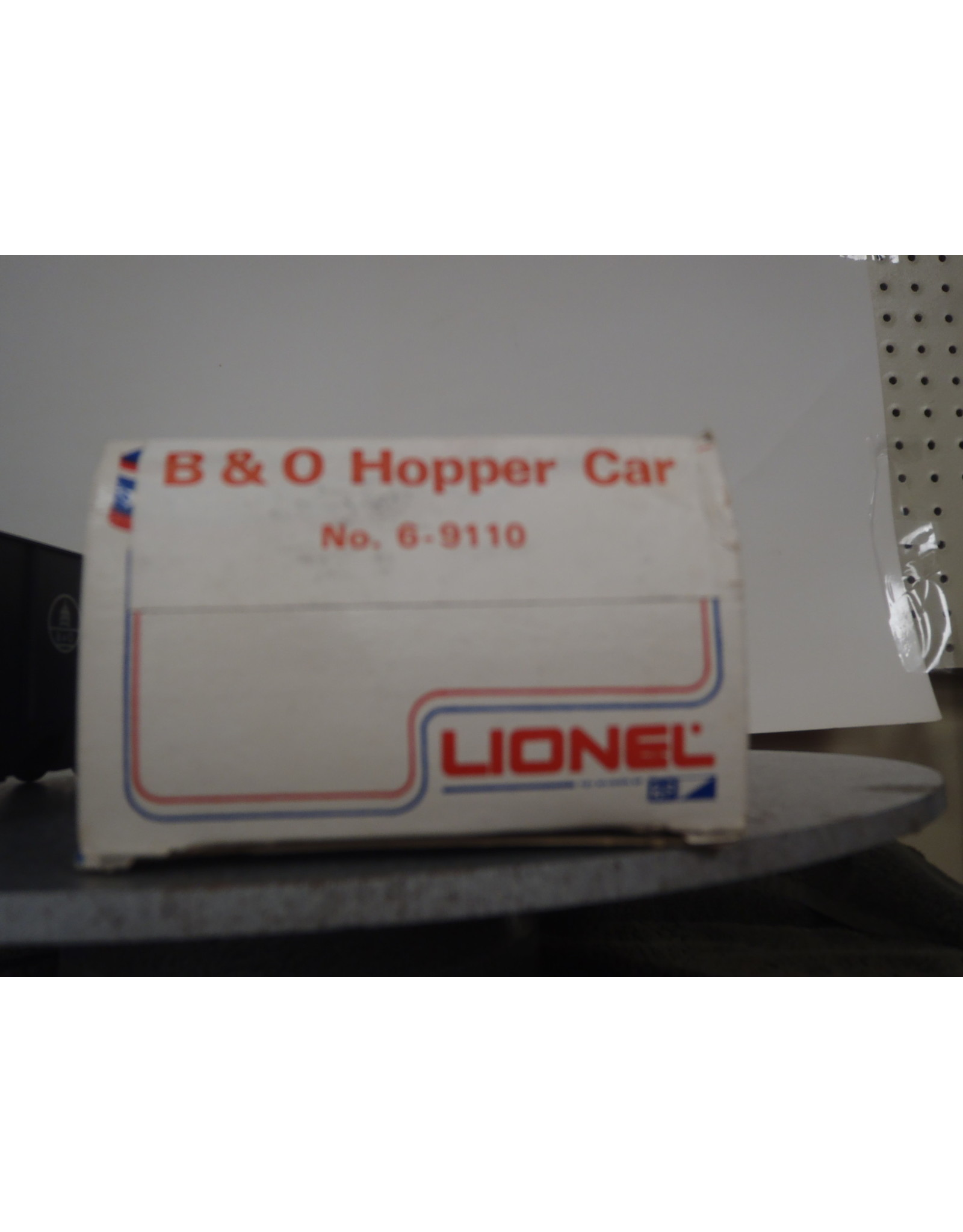 Lionel Hopper B&O 9110