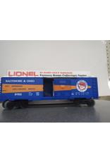 Lionel Boxcar B&O 9783
