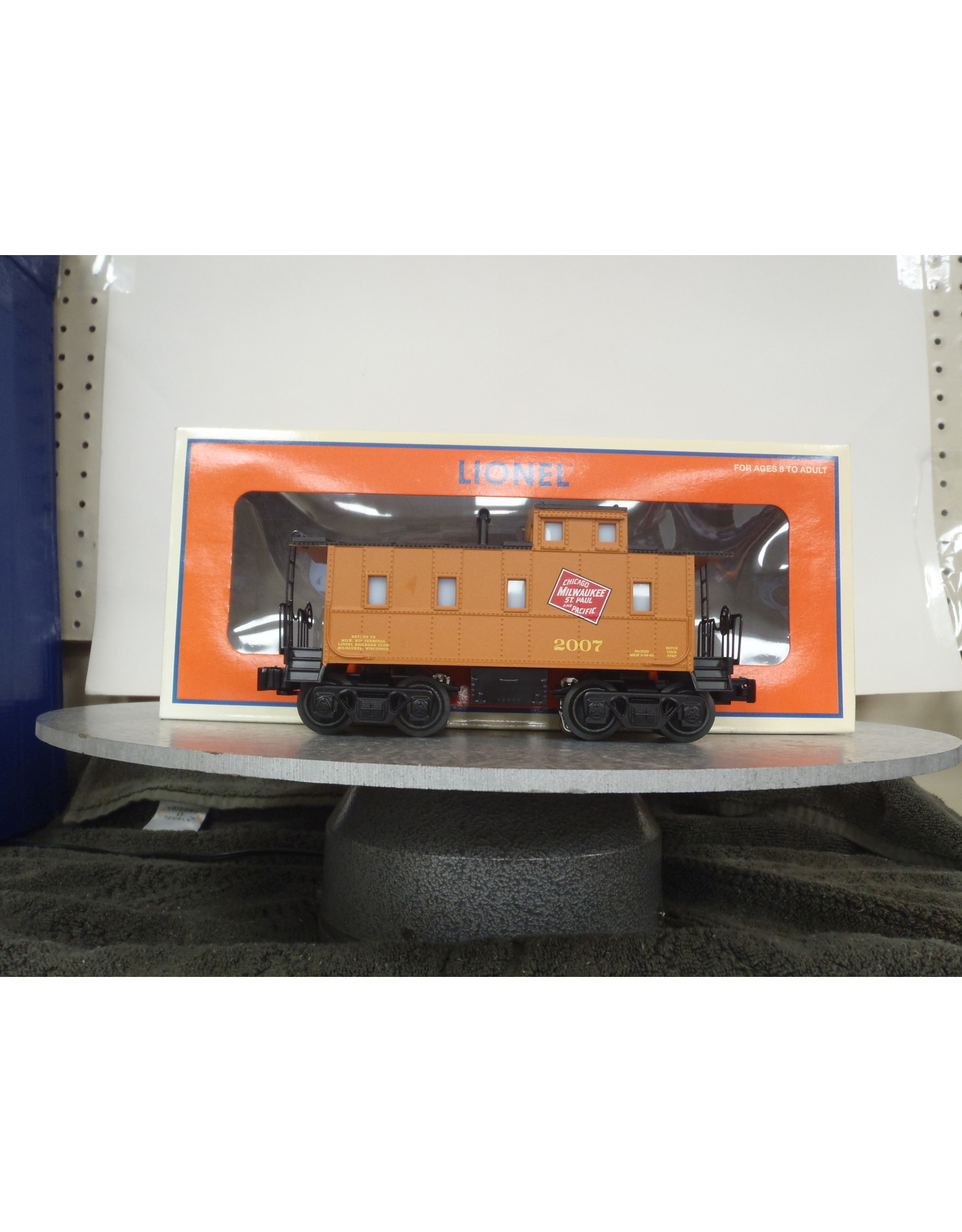 Lionel Caboose Offset Cupola Milwaukee Rd 2007