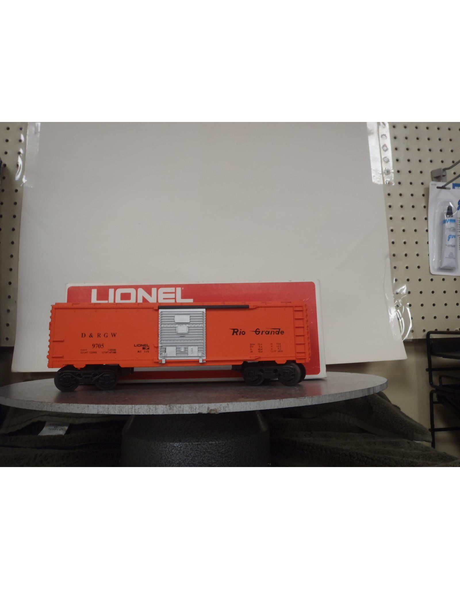 Lionel Boxcar Denver RG 9705