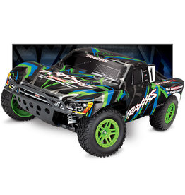 Traxxas Traxxas Green Slash 4x4 Brushed green/Blue 68054-1
