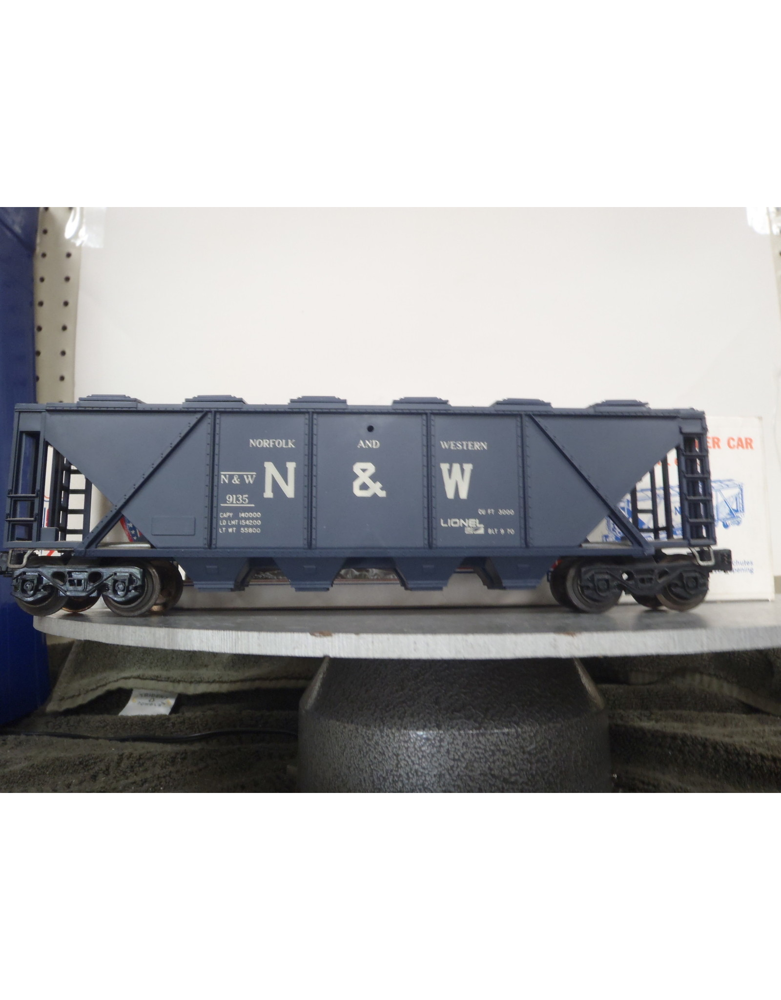 Lionel Hopper Covered N&W 9135