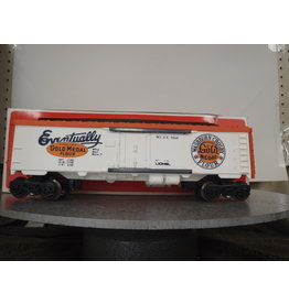 Lionel Reefer Gold Metal Billboard 9860