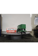 Lionel Flatcar w/Vans Burlington Northern 9133