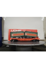 Lionel Flatcar w/Vans Great Northern 9282