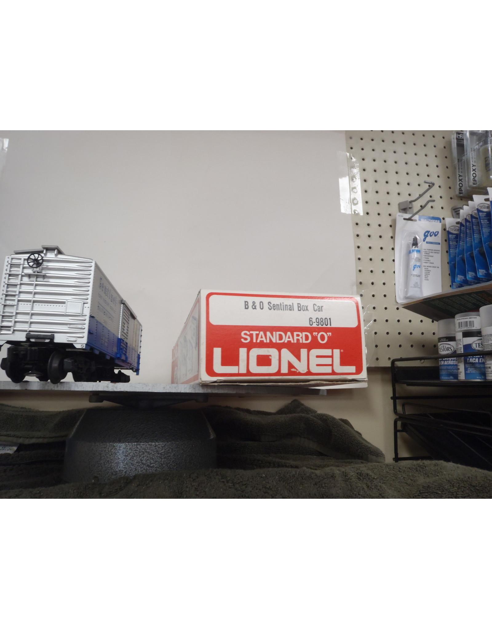 Lionel Boxcar B&O Sentinal 9801