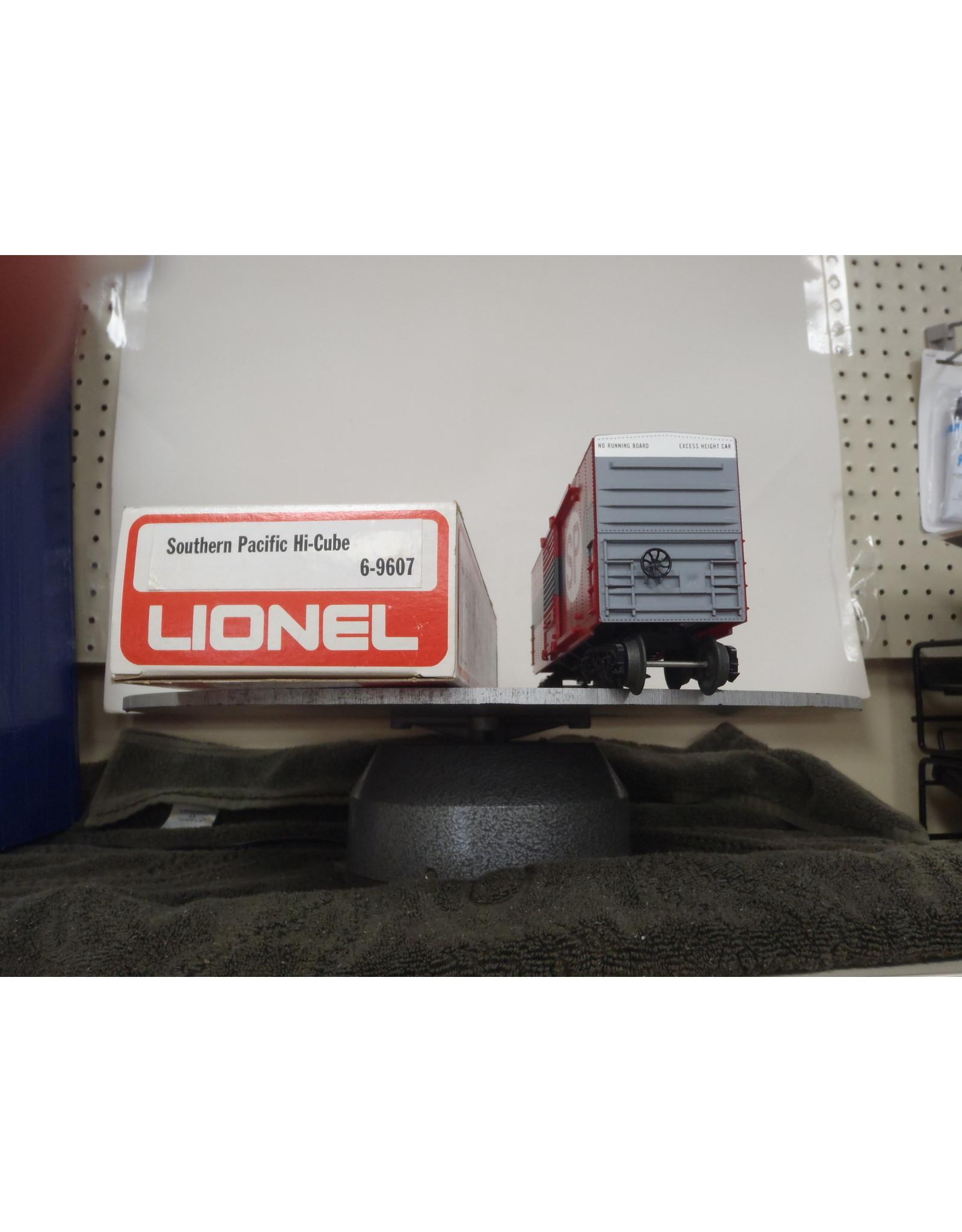 Lionel Boxcar Hi-Cube Southern Pacific 9607