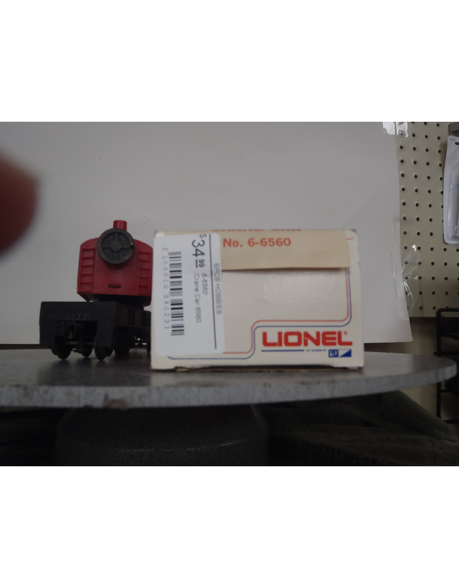 Lionel Crane Car 6560