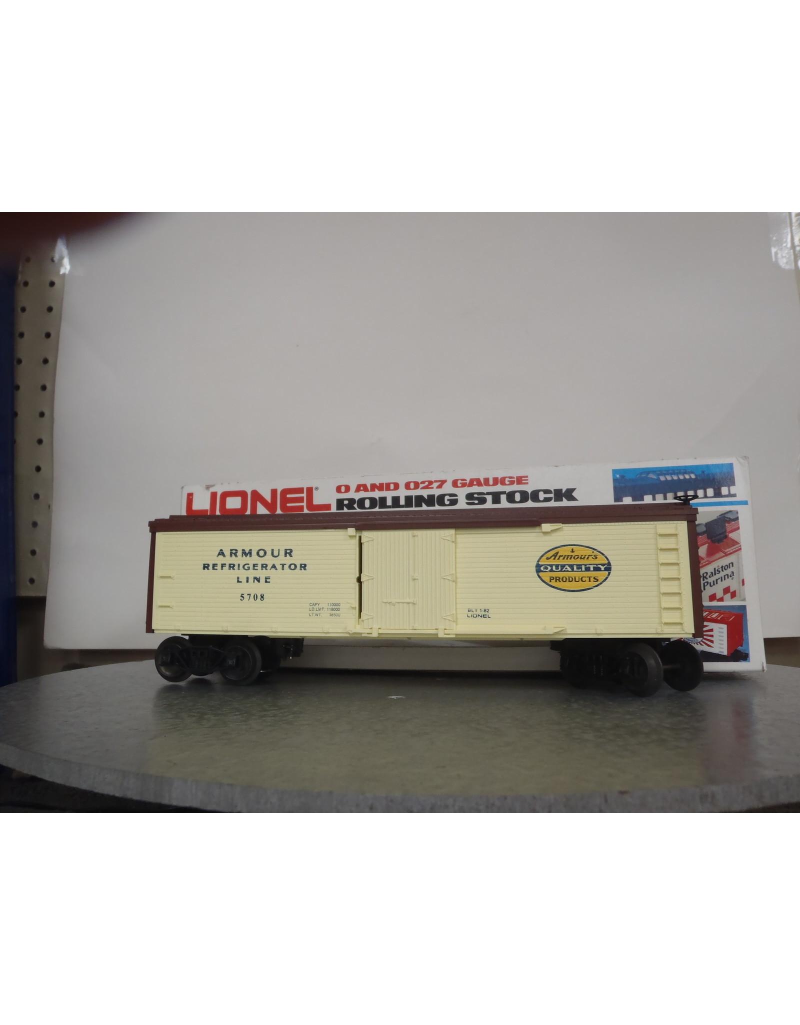 Lionel Reefer Armour 5708