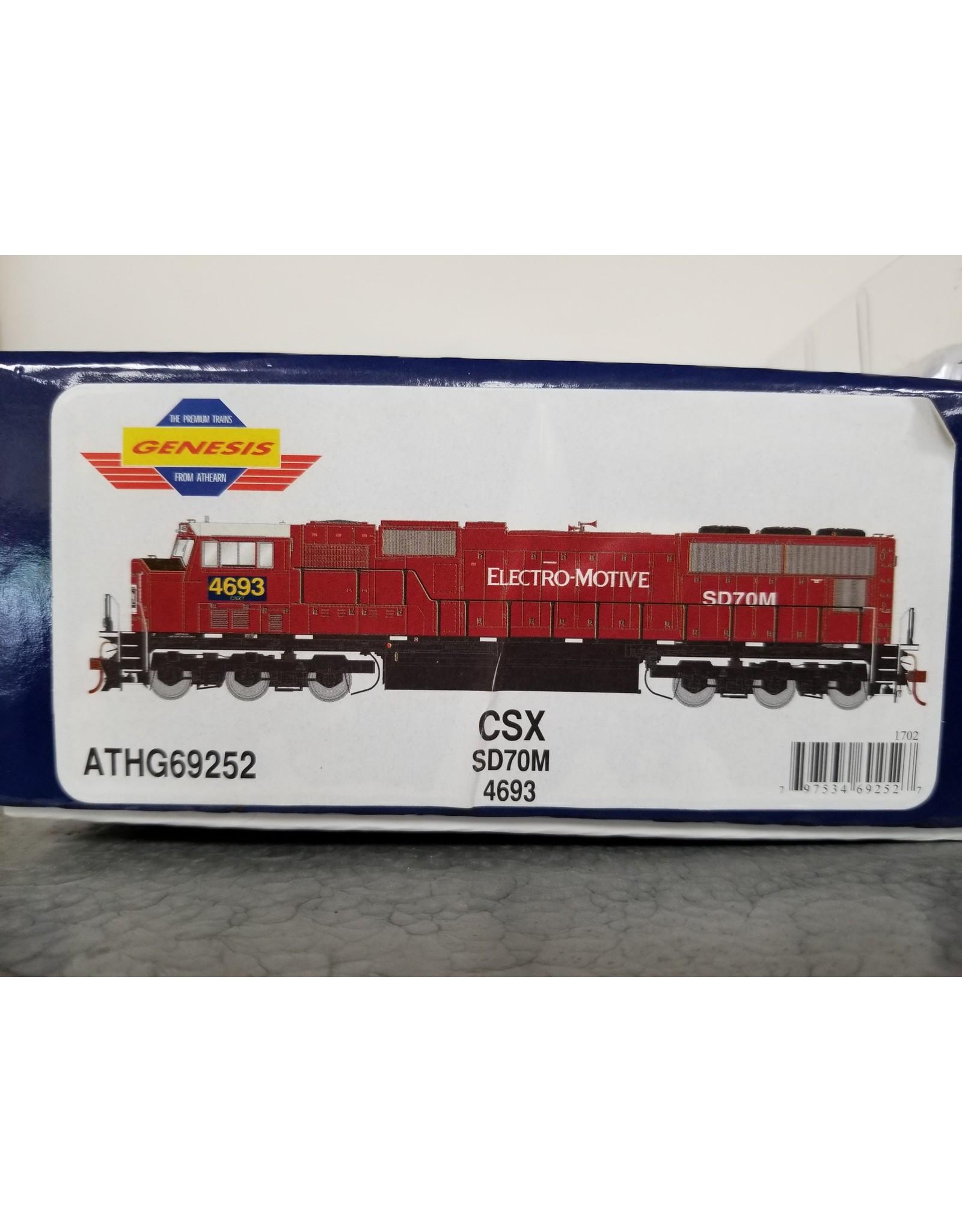 ATH HO SD70M, CSX/Ex-EMDX #4693
