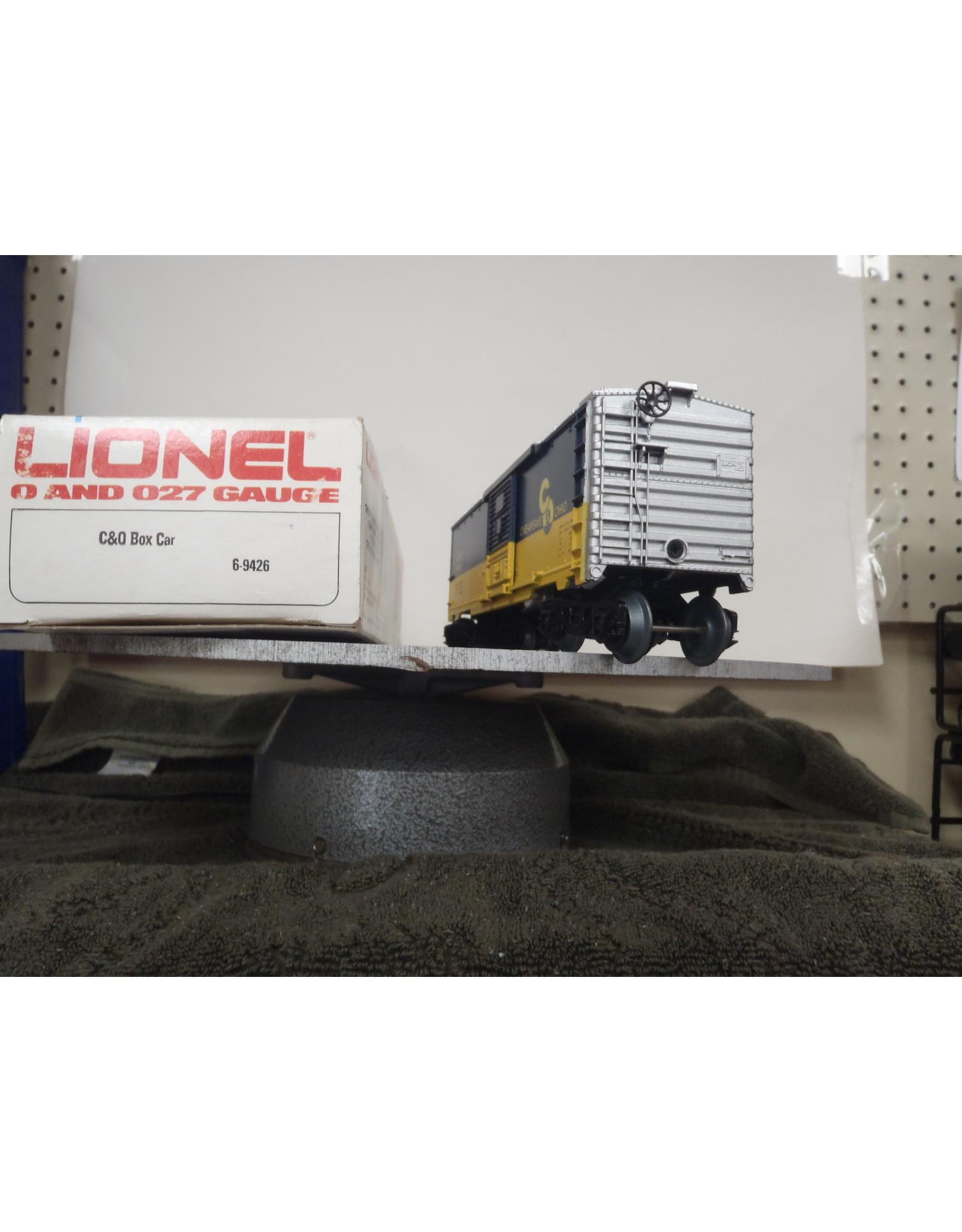 Lionel Boxcar C&O 9426