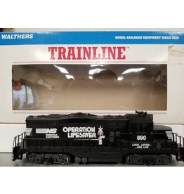 Walthers EDM GP9M LOCO Norfolk Southern #890