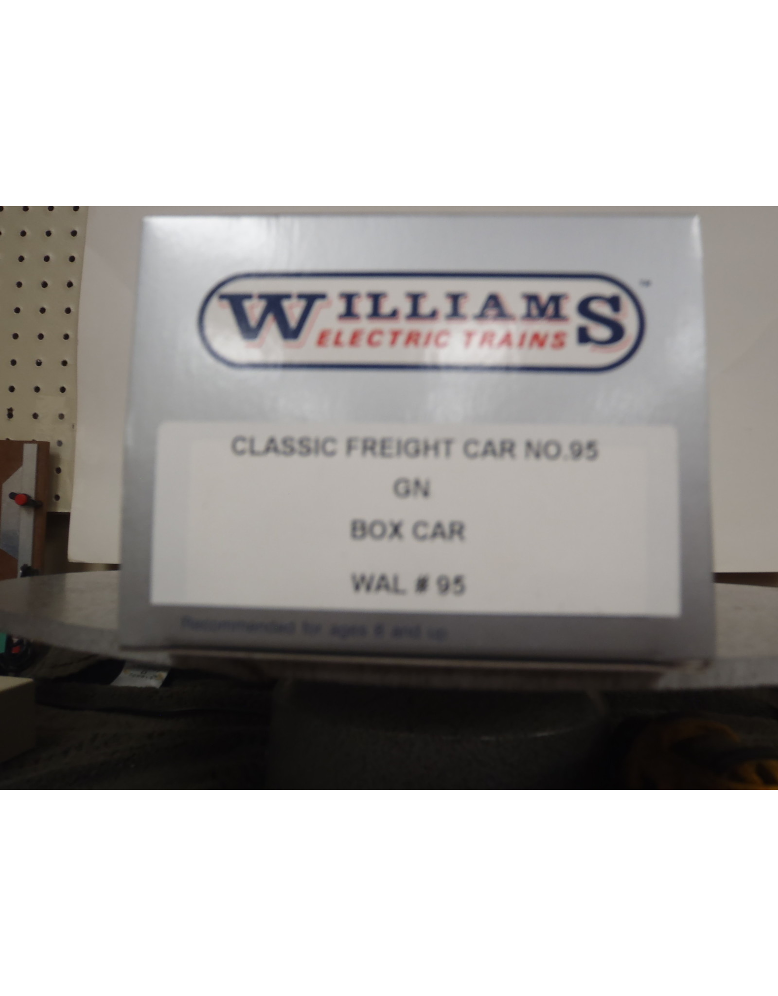 Williams Boxcar Great Northern 9772