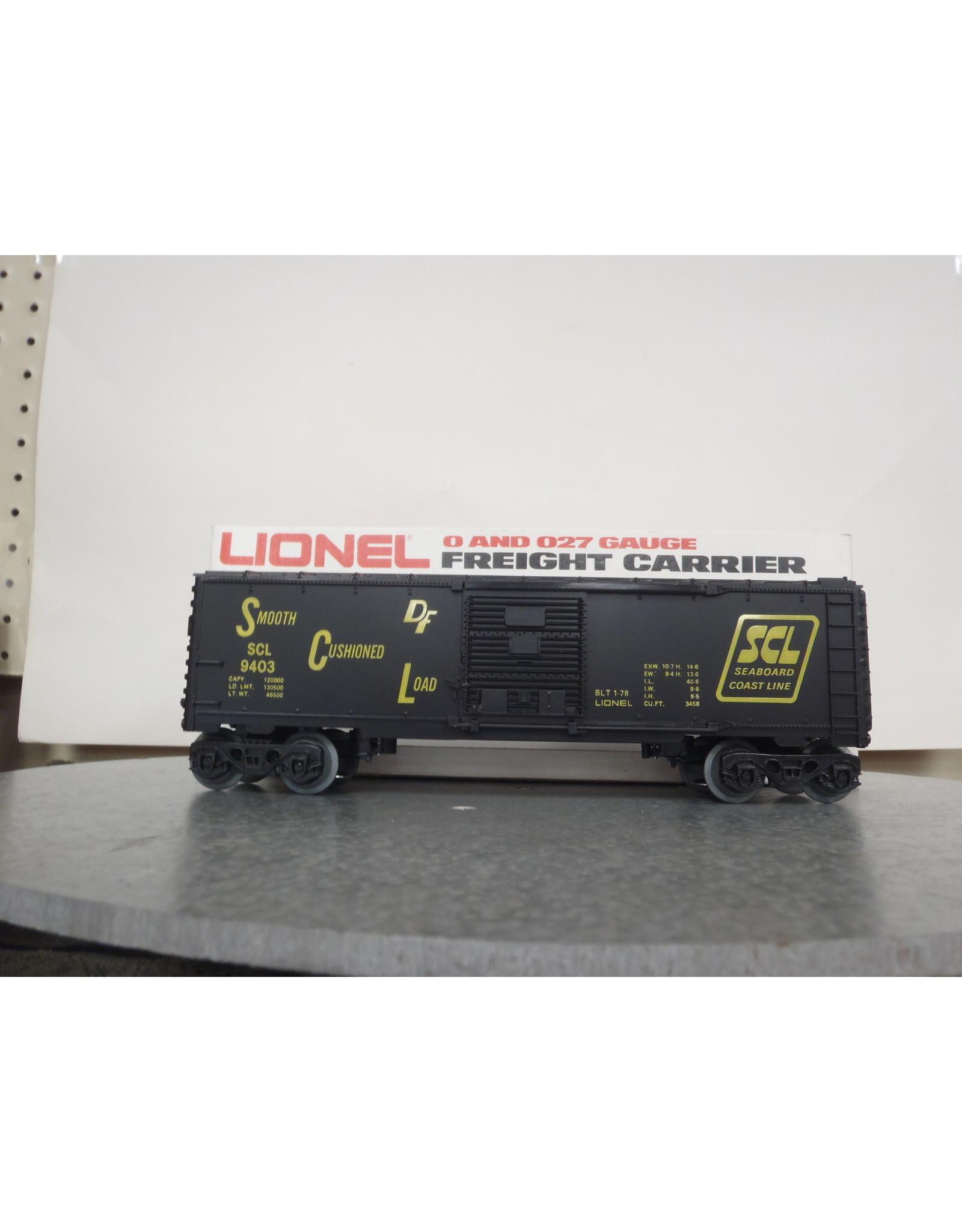 Lionel Boxcar Seaboard Coast Line 9403