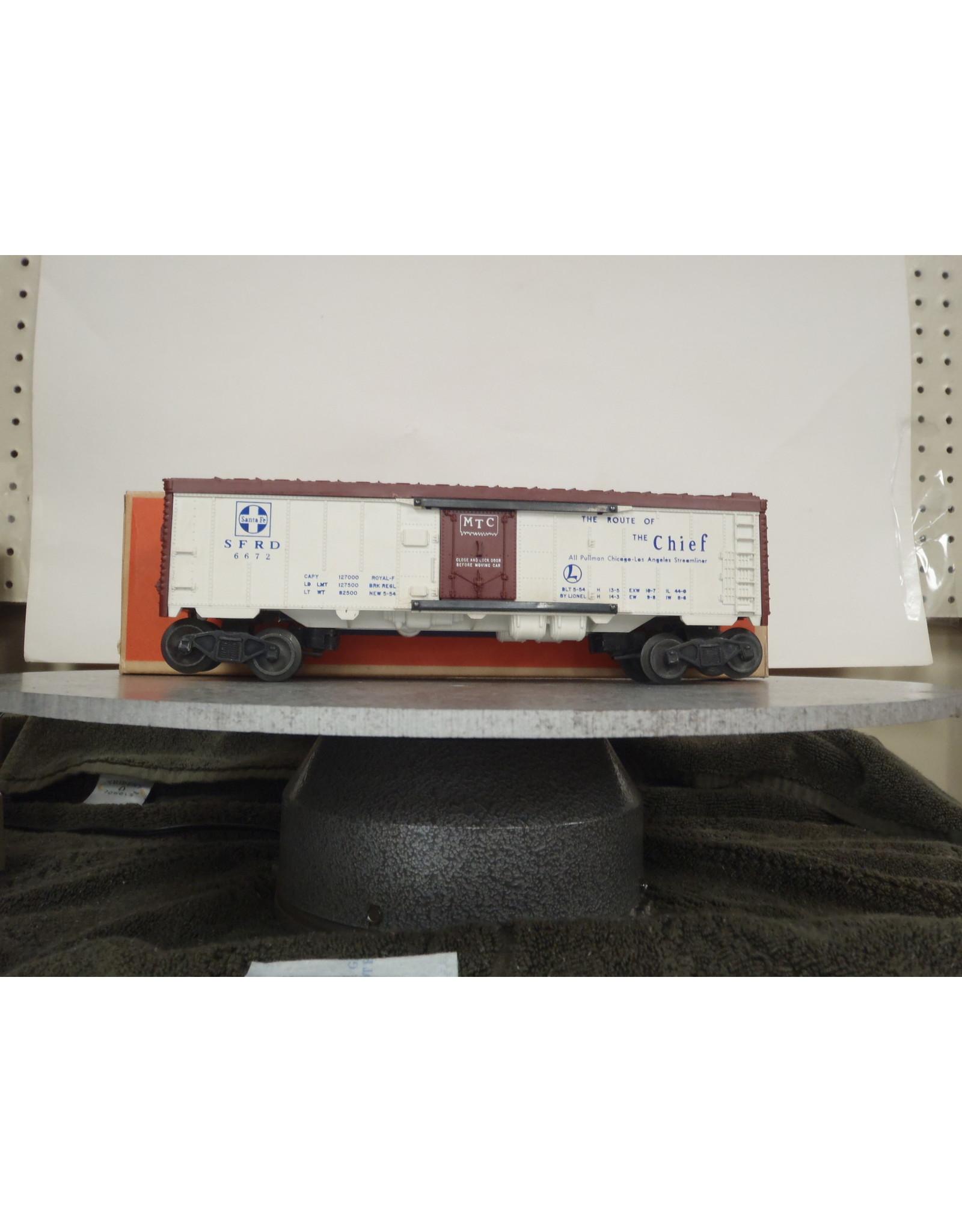 Lionel Refrigerator Car 6672