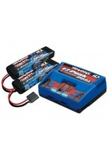 Traxxas 2991 Battery/charger completer pack (includes #2972 Dual iD charger (1), #2869X 7600mAh 7.4V 2-cell 25C LiPo battery (2))