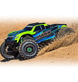 Traxxas Traxxas Maxx with 4s Esc green  1/10 Scale 89076-4