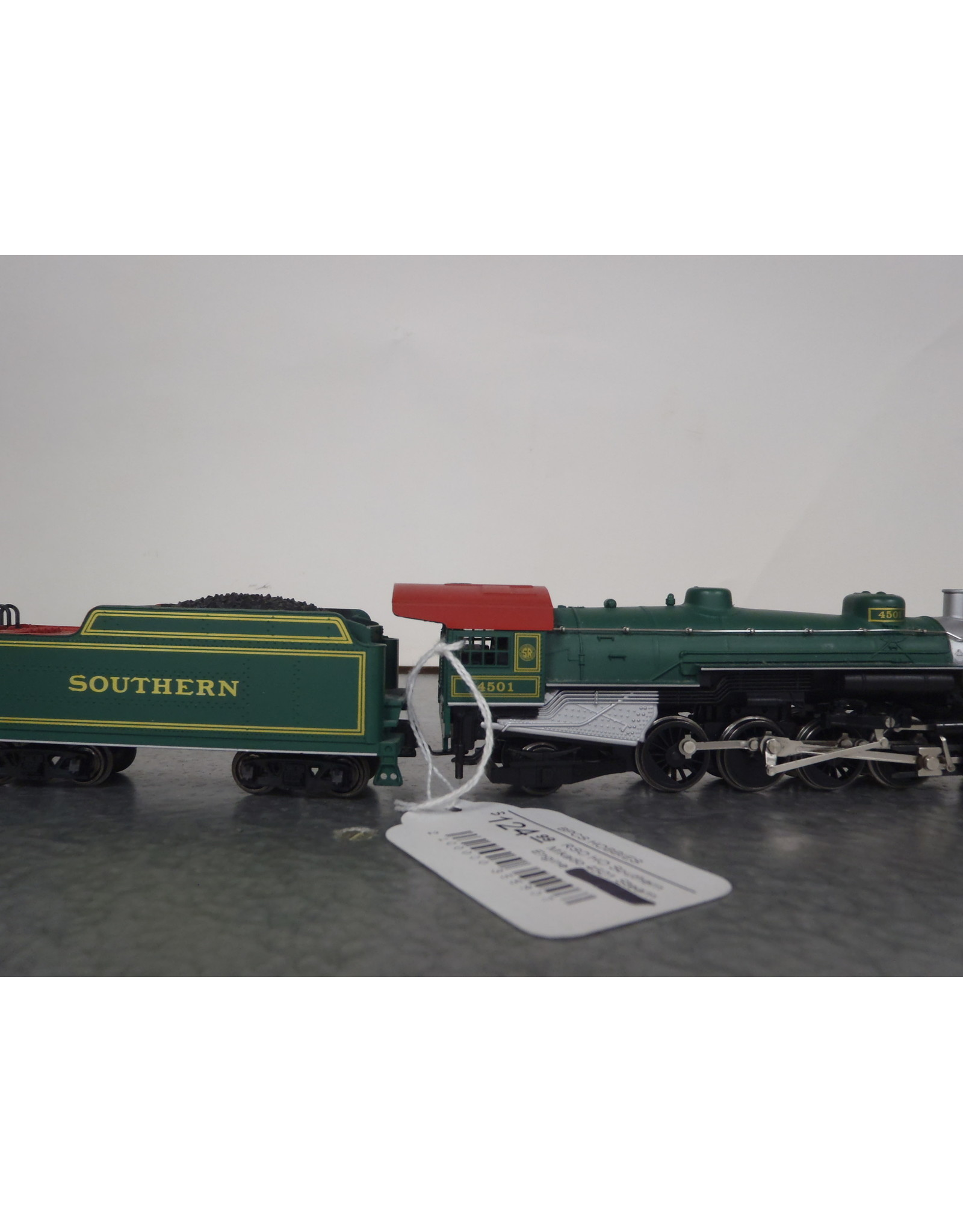 RSO HO Southern Mikado 4501 Steam Engine UNTESTED Vintage Yugoslavia