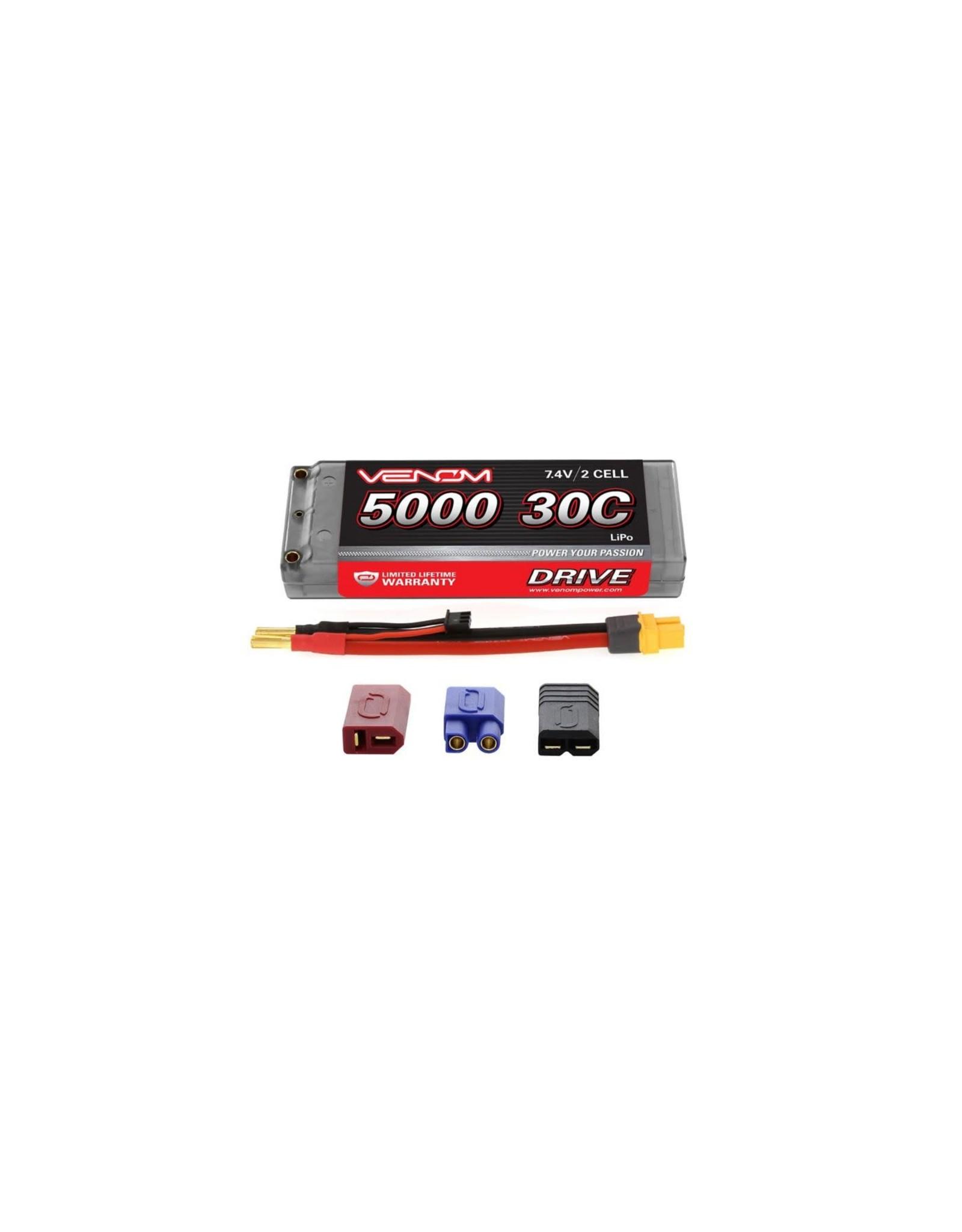 VNR 30C 7.4V 5000mAh 2S LiPo, Hardcase: UNI Plug