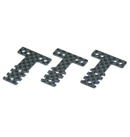 Kyosho Kyosho Mini z Carbon Rear Suspension Plate set MM/LM