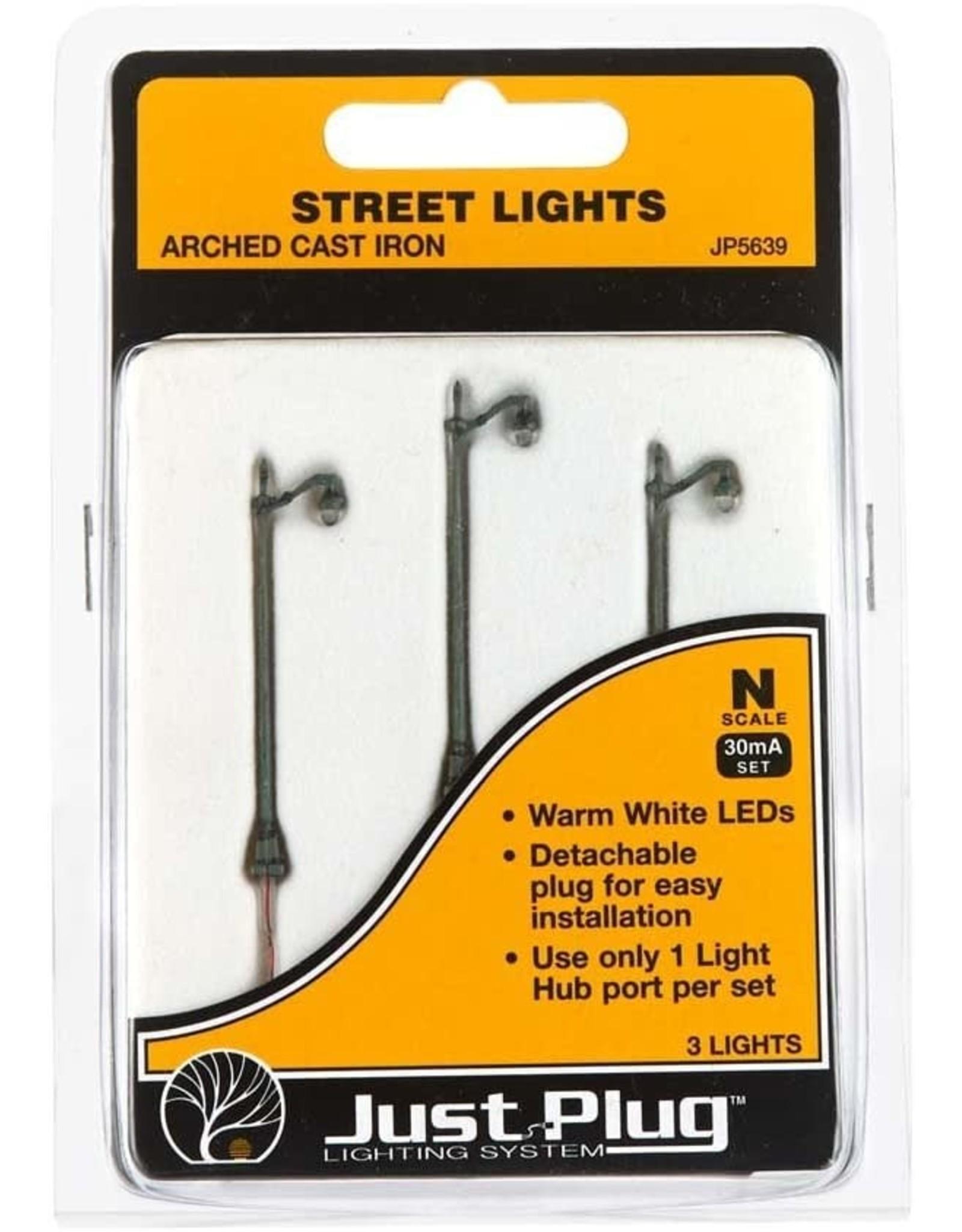WOO JP5639 Arched Cast Iron Street Lights N (3) 5639