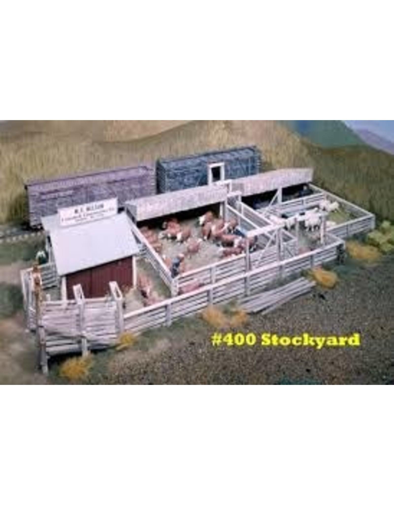 Campbell Scale Models Campbell Scale Models Ho Stockyard 400