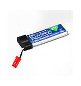 EFL 500mAh 1S 3.7V 25C LiPo Battery