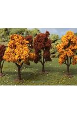 """JTT jtt autumn deciduous 2"""" - 2.25"""" trees 4pc ho"""