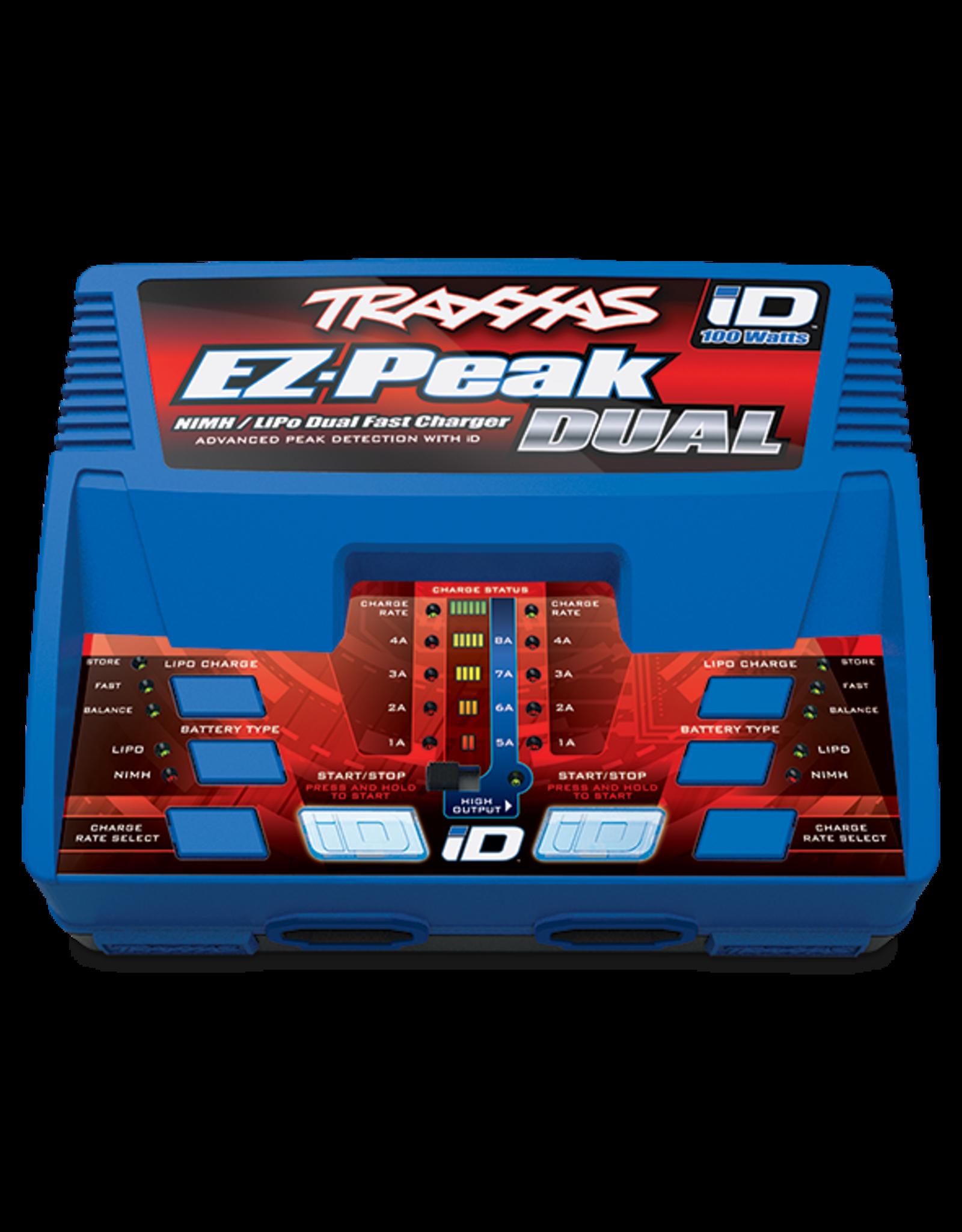 TRA EZ Peak 100 watt Dual Charges
