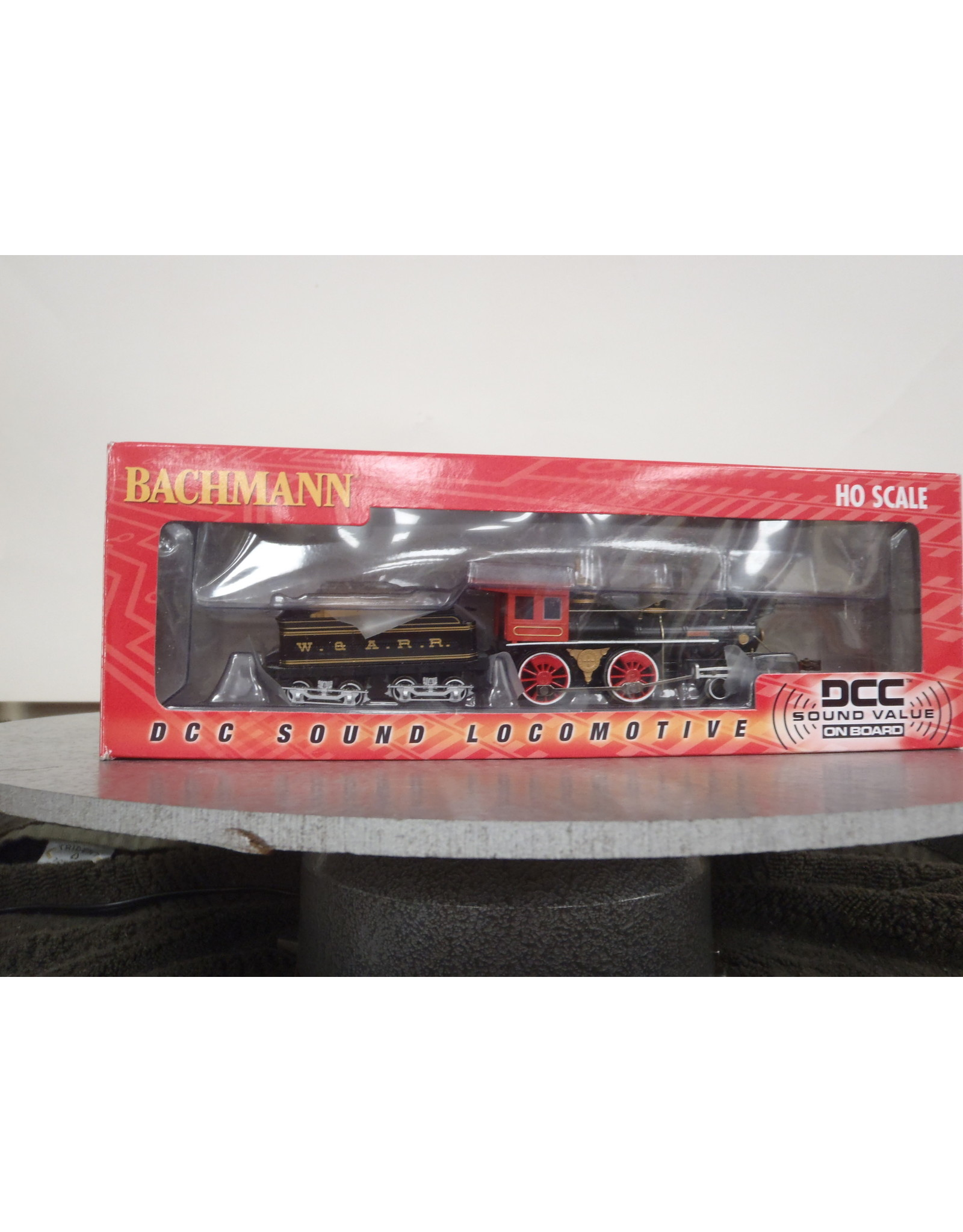 BAC HO 4-4-0 w/DCC & Sound Value, W&ARR/The General