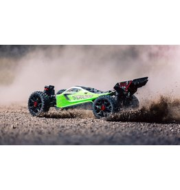 ARRMA Arrma 1/8 TYPHON MEGA 550 Brushed 4WD Speed Buggy RTR, Green (ARA102694)