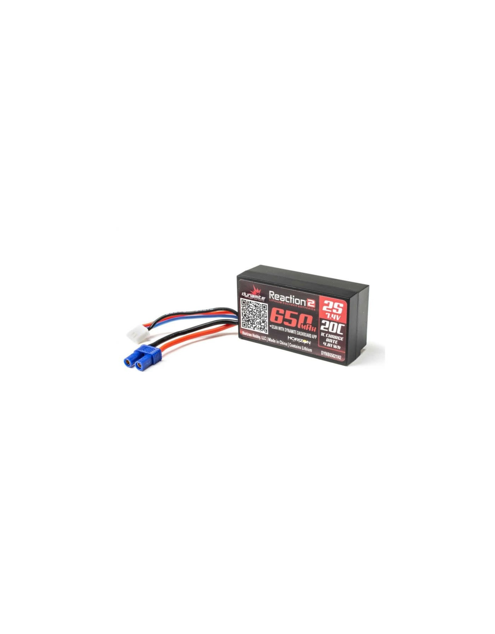 Reaction 2 Reaction 2 2s  7.4 20cLipo 650mah DYNB65021H2