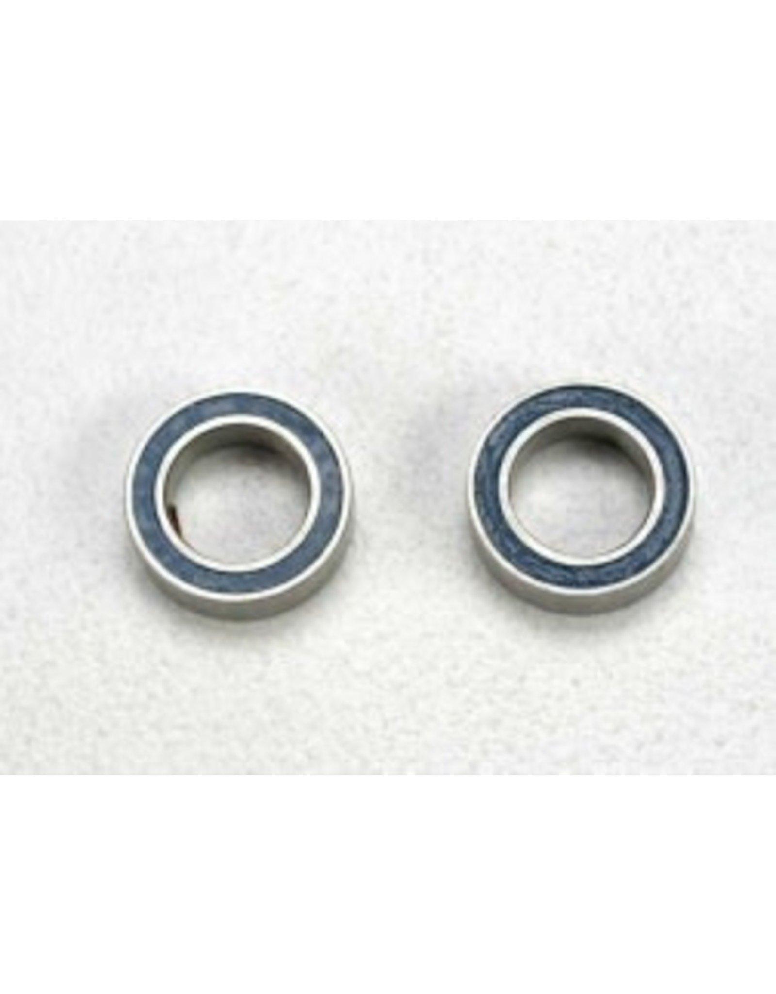 Traxxas Traxxas Ball bearings blue rubber (5x8x2mm) (2)
