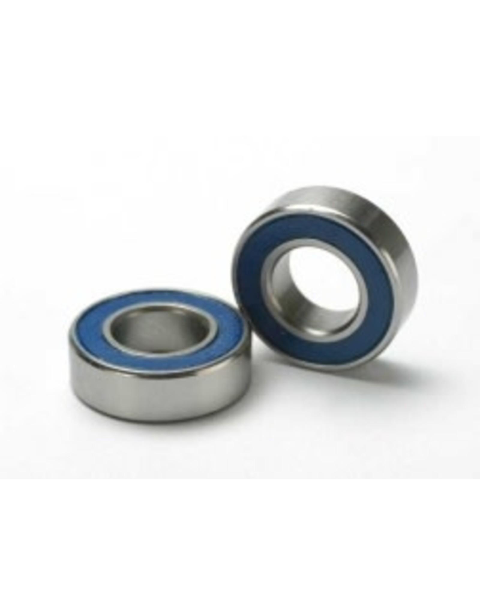 Traxxas Traxxas Ball bearings blue rubber sealed (8x16x5mm) 2 TRA5118