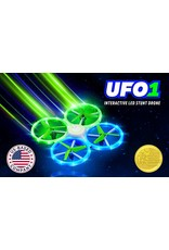 2DogRC UFO1 Interactive Led  Stunt Drone