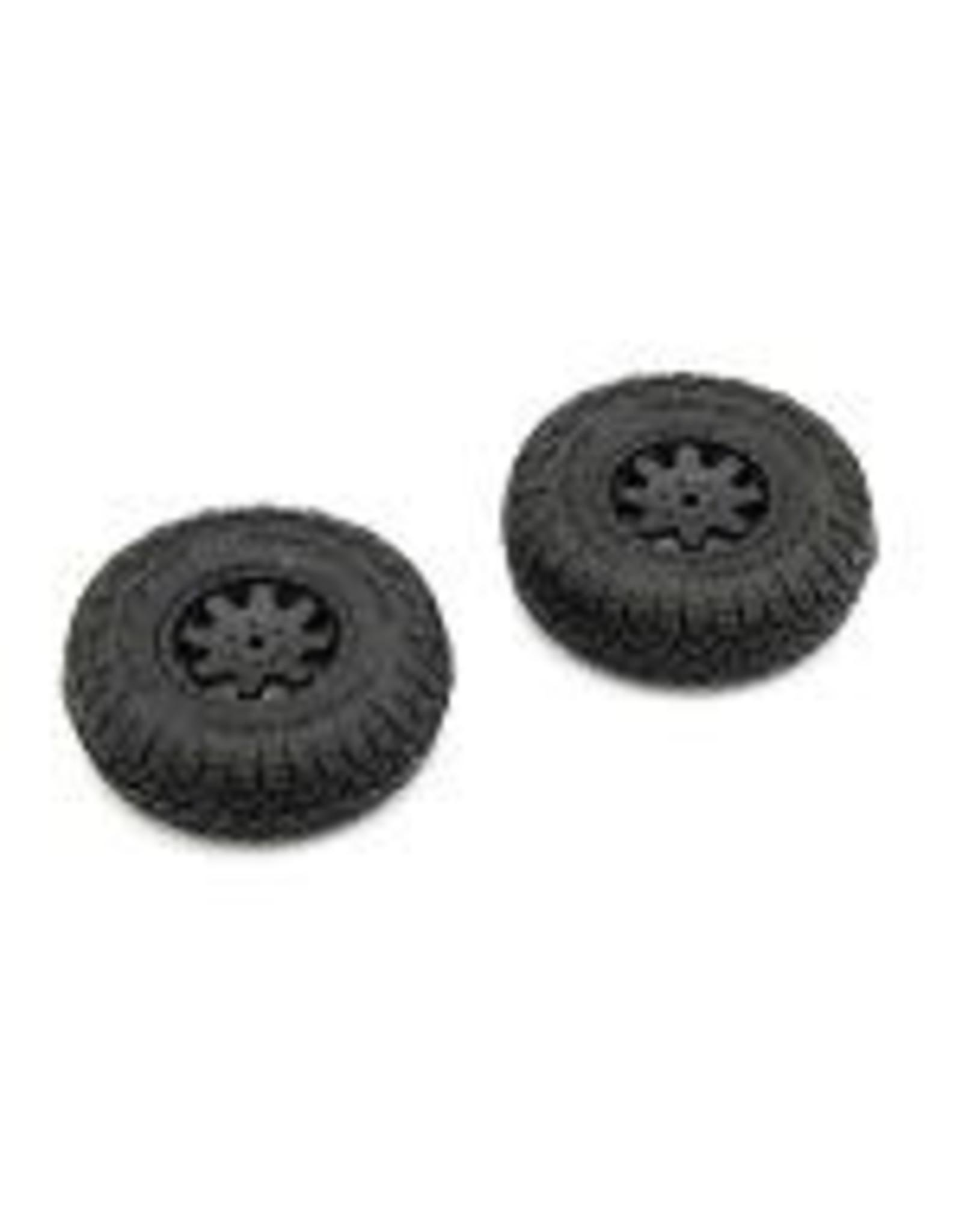 Kyosho Kyosho Premounted Tire/Wheel 2pcs Toyota 4Runner