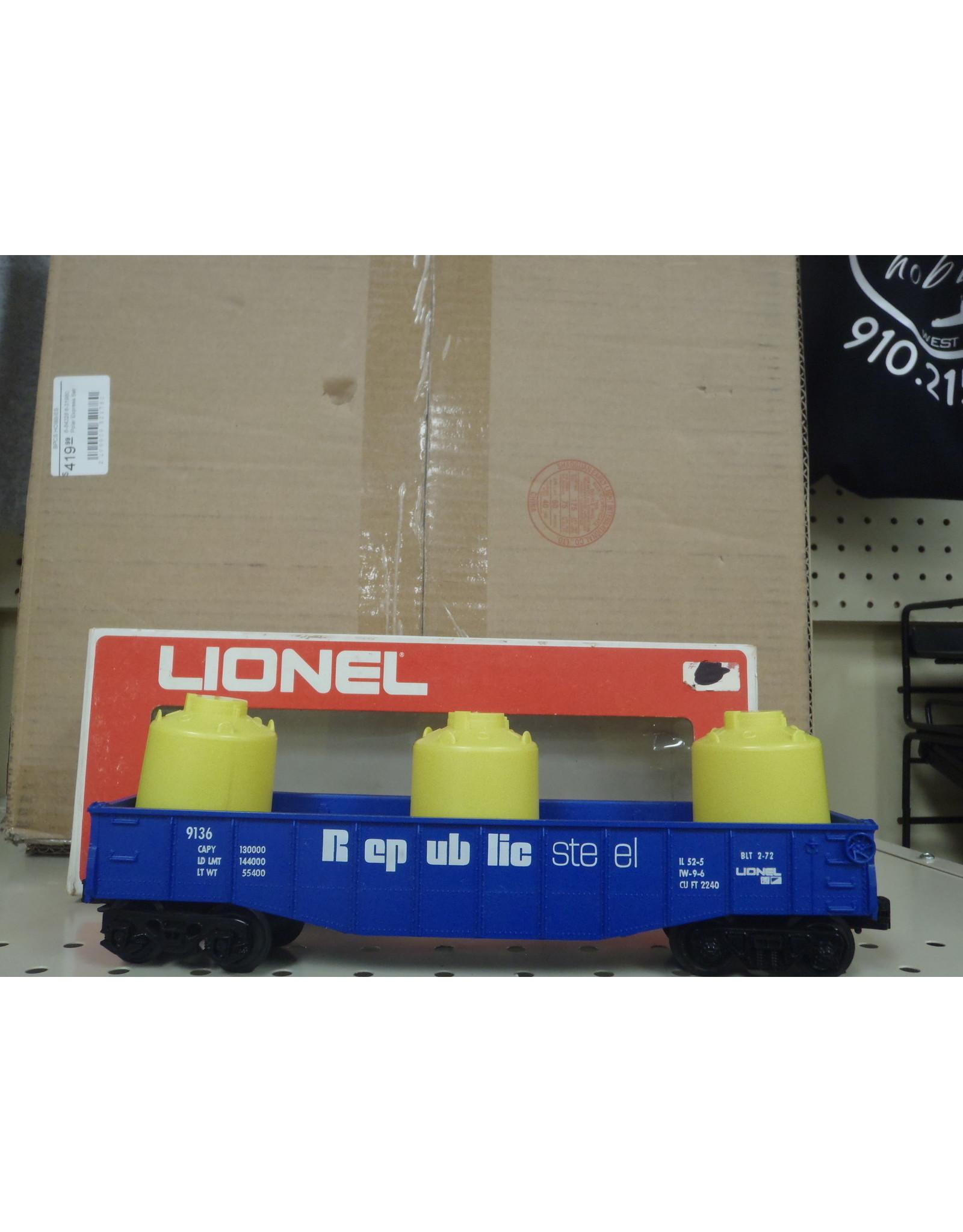 Lionel Republic Steel O scale